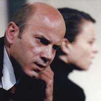 """Theater Gruppe 80 2002 """"Geschlossene Gesellschaft"""" (mit Gabriela Hütter)"""