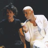 """Volkstheater Wien 2003 """"Mozarts Vision"""" (mit Julia Cencig) © Nurith Wagner-Strauss"""