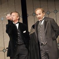 """Volkstheater Wien in den Bezirken 2009 """"Große Szene"""" (mit Johannes Seilern) <br />© Wolfgang Palka"""